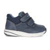 Dětská modrá kožená kotníčková obuv bubblegummers, modrá, 116-9618 - 19