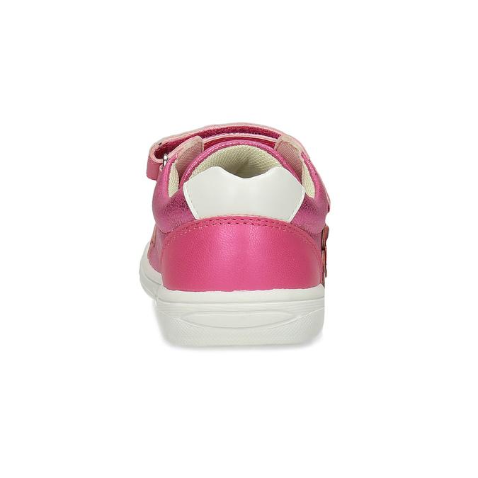 Růžové dětské tenisky na suché zipy mini-b, růžová, 221-5626 - 15