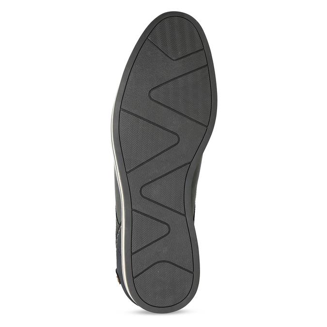Pánské šedé neformální polobotky bata-red-label, šedá, 821-2612 - 18