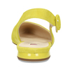 Dámské kožené žluté baleríny hogl, žlutá, 563-8101 - 15