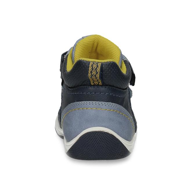 Modrá dětská kotníčková obuv bubble-breathe, modrá, 111-9605 - 15