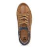 Chlapecké hnědé kožené tenisky na zip mini-b, hnědá, 416-3601 - 17