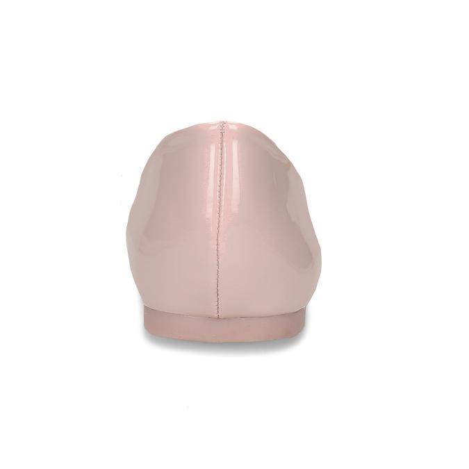 Dámské baleríny růžové bata, růžová, 521-5622 - 15
