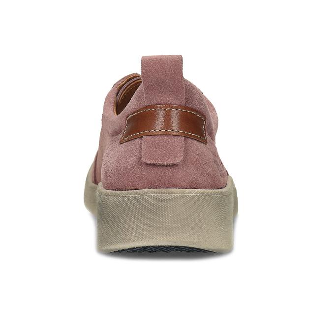 Dámské kožené růžové tenisky městského stylu weinbrenner, růžová, 546-5604 - 15