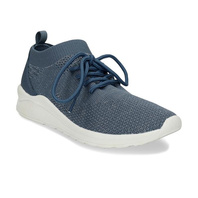 Dámské modré textilní tenisky bata-light, modrá, 541-9612 - 13