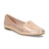 Metalické dámské Loafers mokasíny bata, růžová, 521-5620 - 13