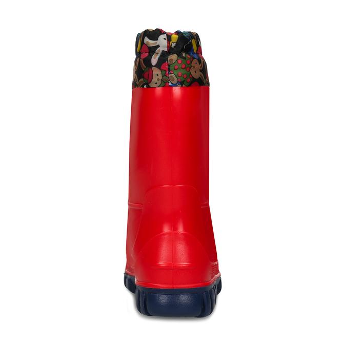 Dětské červené holínky mini-b, červená, 192-5610 - 15