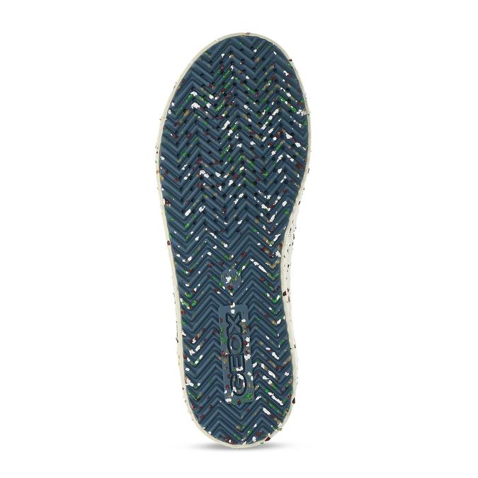 Modré dětské tenisky s potiskem geox, modrá, 319-9713 - 18