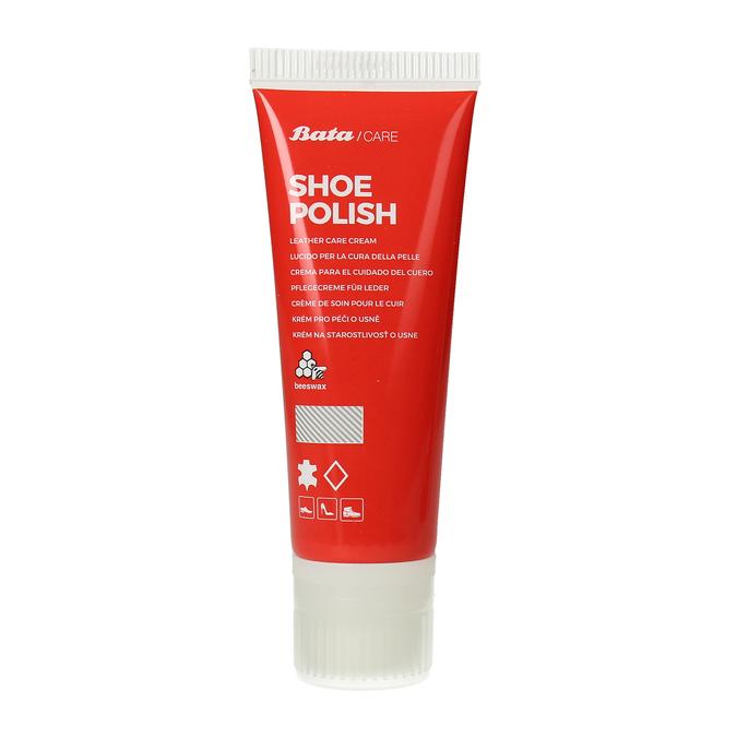 Bezbarvý vyživující krém na obuv z hladké usně bata, neutrální, 990-0199 - 13