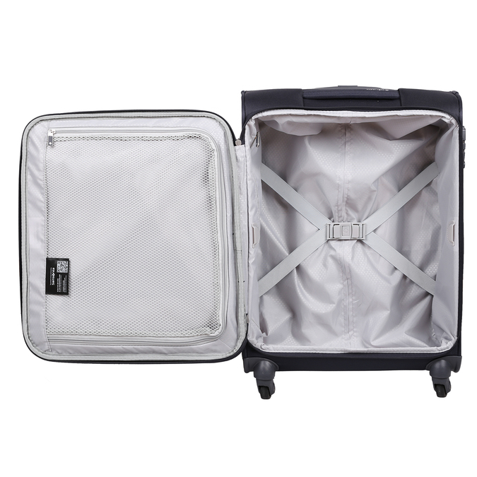 Malý černý kufr na kolečkách samsonite, vícebarevné, 960-0137 - 17