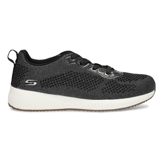 Černé dámské tenisky ve sportovním stylu skechers, černá, 509-6570 - 19