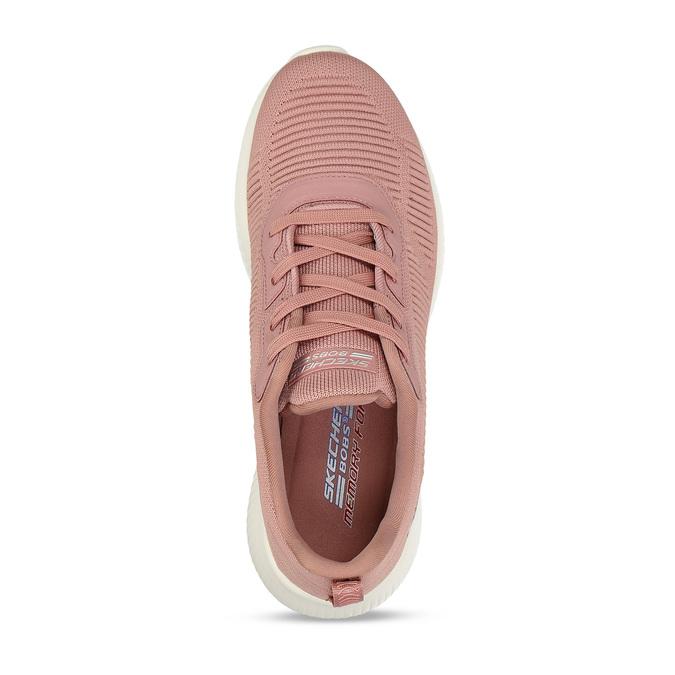 Růžové dámské tenisky s paměťovou pěnou skechers, růžová, 509-5246 - 17