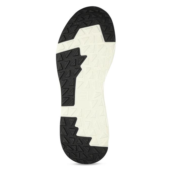 Pánské šedé tenisky z úpletu bata-light, šedá, 849-2637 - 18