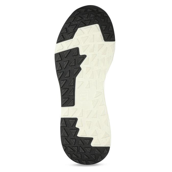 Šedé pánské tenisky z broušené kůže bata-light, šedá, 843-2638 - 18