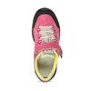 Dětské růžové tenisky z broušené kůže mini-b, růžová, 423-5611 - 17