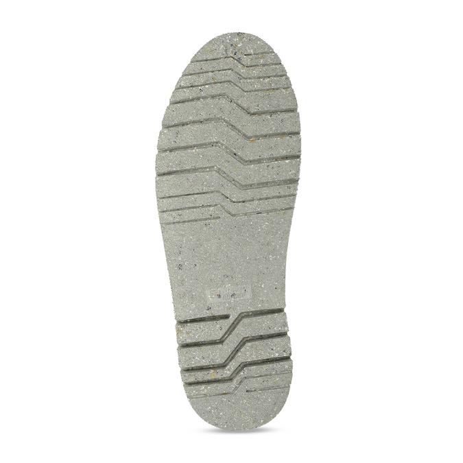 Pánská kožená kotníková eko obuv s korkem weinbrenner-nature, modrá, 829-9618 - 18