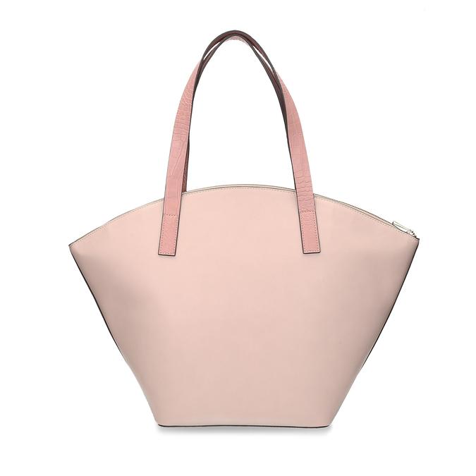 Růžová dámská kabelka přes rameno bata-red-label, růžová, 961-8632 - 16