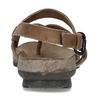 Hnědé dámské celokožené sandály weinbrenner, hnědá, 566-4616 - 15