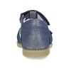 Modré dětské kožené sandály na suchý zip mini-b, modrá, 263-9602 - 15