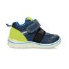 Dětská modrá kotníčková obuv na suché zipy bubblegummers, modrá, 111-9635 - 19