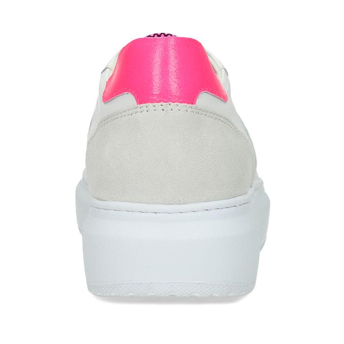 Dámské kožené bílé tenisky městského stylu bata, bílá, 544-5603 - 15