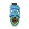 Modré dětské sandály se zelenými detaily bubblegummers, modrá, 161-9618 - 17