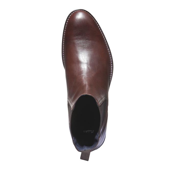 Kožená obuv v Chelsea stylu bata, 2019-894-4116 - 16