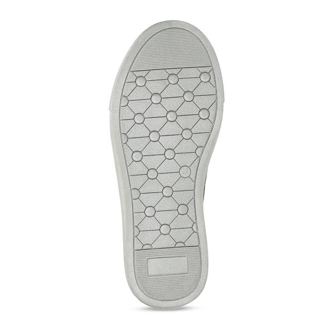 Stříbrné dívčí kotníkové tenisky mini-b, šedá, 221-2603 - 18