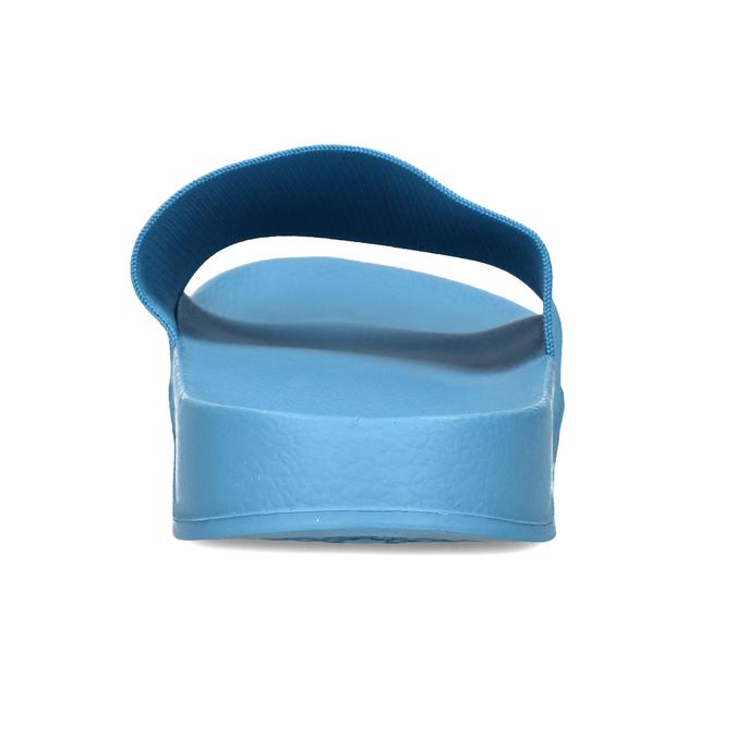 Modré pánské pantofle na léto pata-pata, modrá, 879-9610 - 15