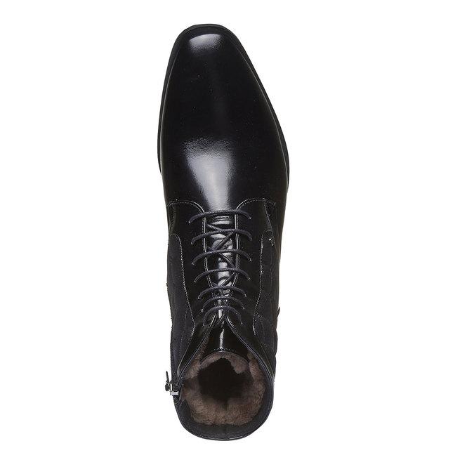 Kožená kotníčková obuv conhpol, 2019-894-6104 - 19