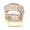 Béžové dámské sandály na suchý zip bata, béžová, 569-8605 - 15