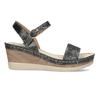 Dámské sandály na platformě comfit, černá, 661-6633 - 19
