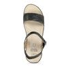 Dámské sandály na platformě comfit, černá, 661-6633 - 17