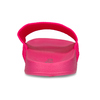 Růžové dámské pantofle s úpletem pata-pata, růžová, 579-5614 - 15