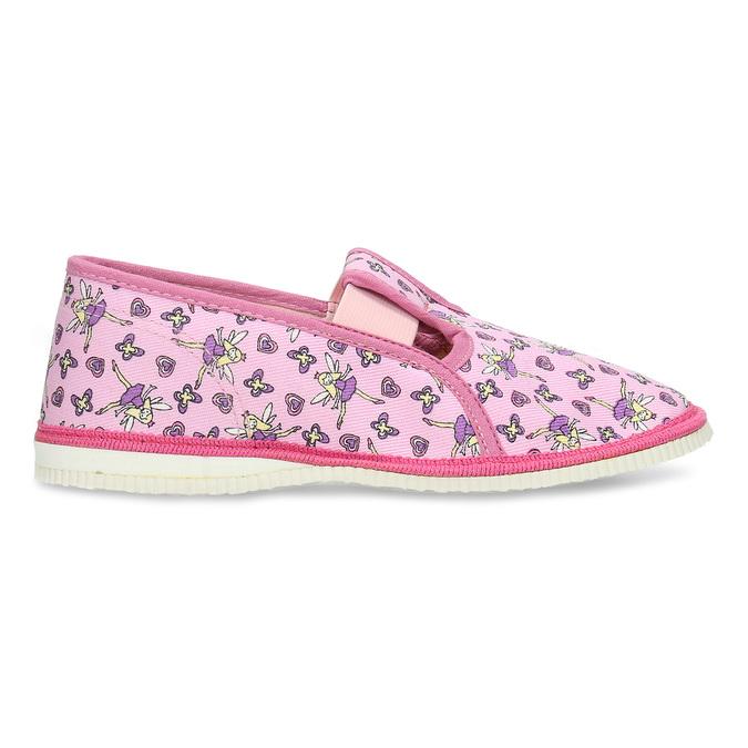 RŮŽOVÉ DÍVČÍ PŘEZŮVKY S MOTIVEM VÍL bata, růžová, 379-5601 - 19