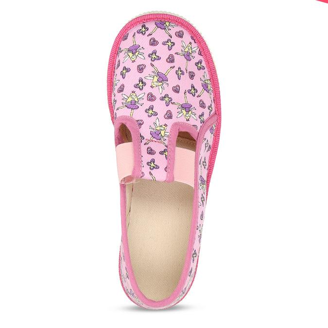 RŮŽOVÉ DÍVČÍ PŘEZŮVKY S MOTIVEM VÍL bata, růžová, 379-5601 - 17