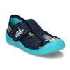 Chlapecké papuče s výšivkou mini-b, modrá, 179-9606 - 13