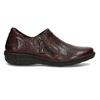 Nízká dámská obuv v tmavočervené kůži bata, červená, 594-5625 - 19