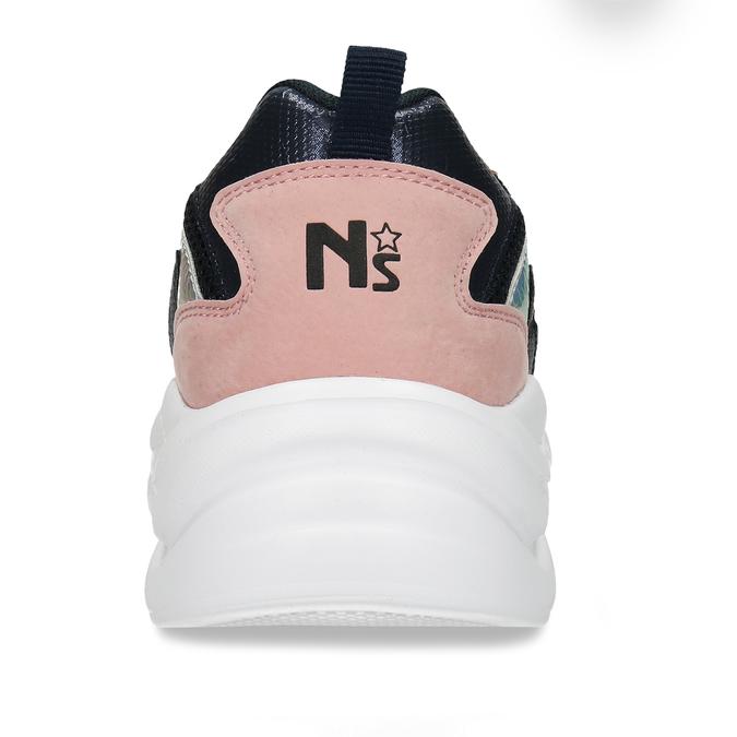 Modro-růžové dámské Chunky tenisky north-star, modrá, 549-9601 - 15