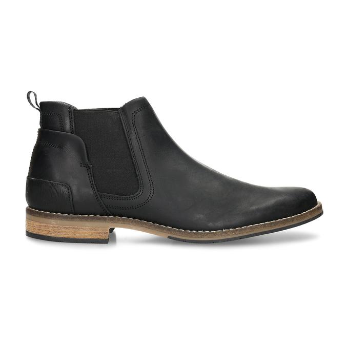 Černá pánská Chelsea obuv kožená bata, černá, 826-6712 - 19