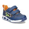Modré chlapecké svítící tenisky mini-b, modrá, 211-9622 - 13