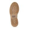 Dámská kožená kotníková obuv světle hnědá weinbrenner, hnědá, 596-4602 - 18