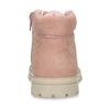 Růžová dívčí kotníková obuv s hvězdičkami mini-b, růžová, 221-5611 - 15