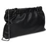 Černá dámská koženková kabelka bata, černá, 961-6272 - 13