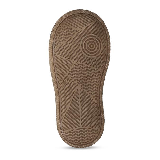 Dívčí šedá kožená zimní obuv s holografickým potiskem froddo, šedá, 194-2612 - 18