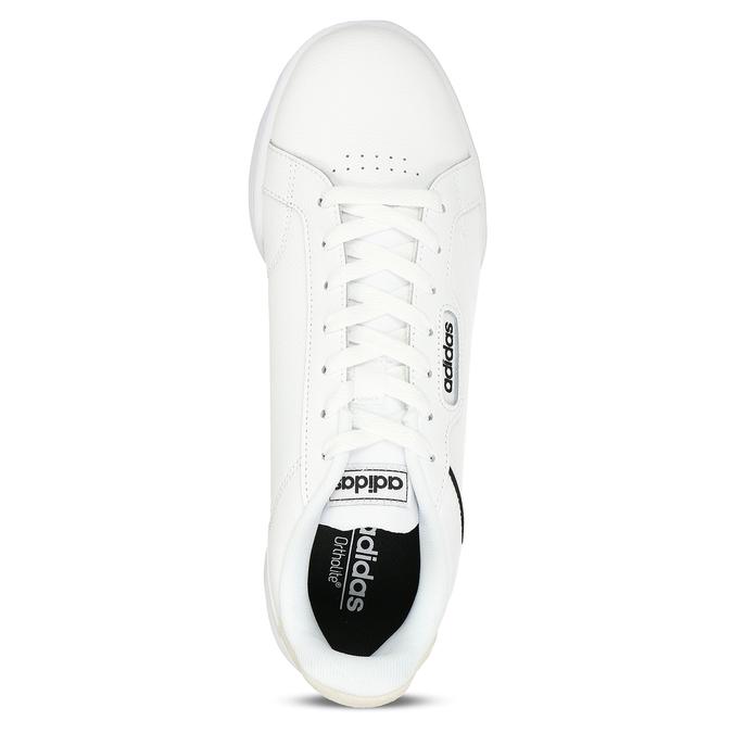 Bíločerné pánské tenisky adidas, bílá, 801-1341 - 17
