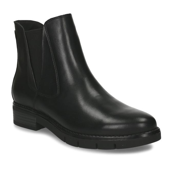 Dámská kožená obuv v Chelsea stylu flexible, černá, 594-6723 - 13