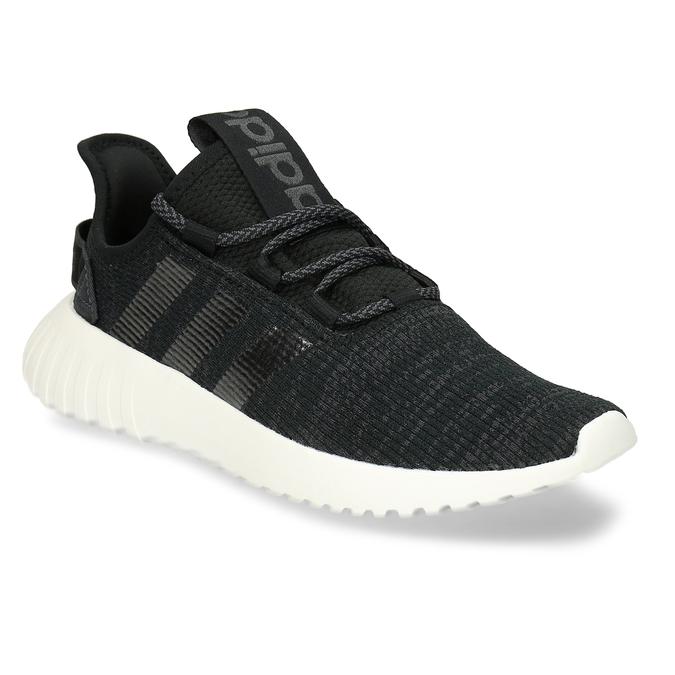 Černé dámské žíhané tenisky adidas, černá, 509-6186 - 13