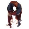 Vícebarevná dámská šála se střapci bata, vícebarevné, 909-0213 - 26