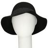 Černý dámský klobouk bata, černá, 909-6698 - 16